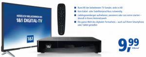 1&1 Digital-TV Premium inkl. TV-Box