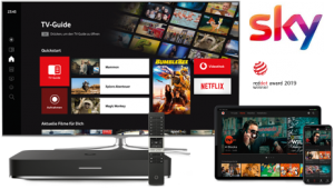 Vodafone GigaTV + Sky Cinema HD
